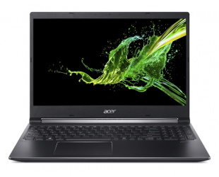 "Nešiojamas kompiuteris Acer Aspire 7 A715-74G-78SM Charcoal Black 15.6"" IPS Matt i7-9750H 8GB 256GB SSD NVIDIA GeForce GTX 1650 4GB Windows 10"