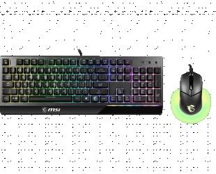 Žaidimų klaviatūra MSI Vigor GK30 COMBO
