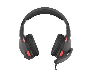 Mikrofonas GENESIS RADON 200 Gaming Headset , Wired, Black/Red