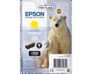 Rašalo kasetė Epson Singlepack 26 Claria Premium Yellow