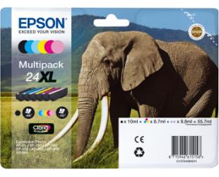 Rašalo kasetė Epson 6-colours 24XL Claria Photo HD Multipack