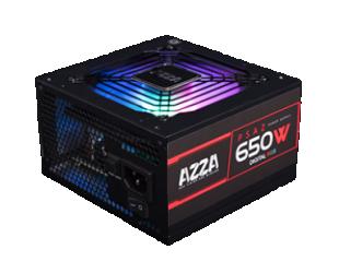 Maitinimo blokas AZZA PSAZ-650W-RGB Black 650W