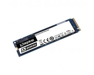 SSD diskas Kingston A2000 1000 GB, SSD interface M.2 NVME, Write speed 2000 MB/s, Read speed 2200 MB/s