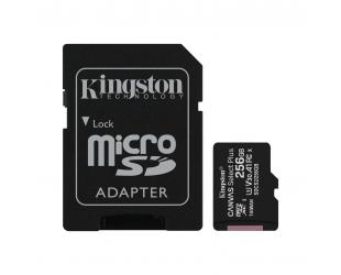 Atminties kortelė Kingston Canvas Select Plus UHS-I 256GB Micro SDXC CL10 su SD adapteriu
