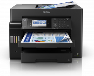 Rašalinis daugiafunkcinis spausdintuvas Epson EcoTank L15150 Colour, Inkjet, Multicunctional A3+, Wi-Fi, Black