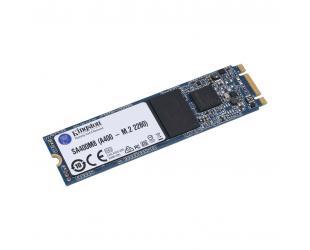 SSD diskas Kingston A400 480 GB, SSD interface M.2 SATA, Write speed 450 MB/s, Read speed 500 MB/s