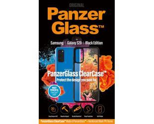 Dėklas PanzerGlass ClearCase Samsung Galaxy S20 Juoda