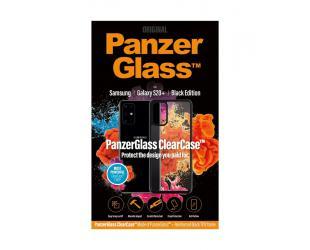 Dėklas PanzerGlass ClearCase Samsung Galaxy S20+ Juoda