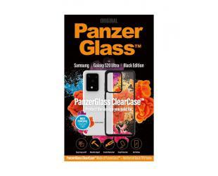 Dėklas PanzerGlass ClearCase Samsung Galaxy S20+ Ultra, Juoda