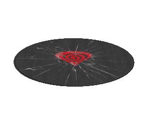 Apsauginis kilimėlis GENESIS Tellur 300 IOH 100cm, Black