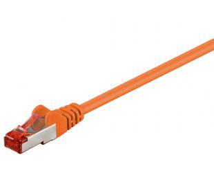 Kabelis Goobay 95582 CAT 6 patch cable S/FTP (PiMF), orange, 1.5 m Goobay