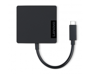 Įkroviklis Lenovo Travel Hub Adapter, USB-C