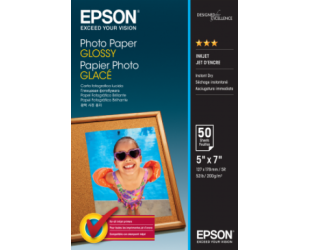 Foto popierius Epson Glossy 50 vnt., 13 x 18 cm, 200 g/m²