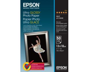 Foto popierius Epson Ultra Glossy 50 vnt., 13 x 18 cm, 300 g/m²
