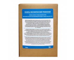 Rankų dezinfekcinis skystis AQM, biocidinis, be alkoholio, 5 Ltr.