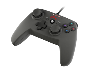 GENESIS P58 Gamepad for PS3/PC, Black, Wired