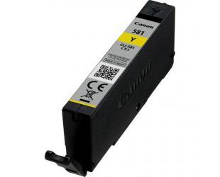 Rašalo kasetė Canon CLI-581Y, Yellow