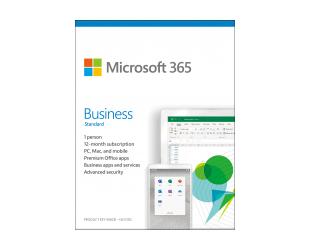 Programinė įranga Microsoft 365 Business Standard KLQ-00462 License term 1 year(s), Estonian, Medialess, P6