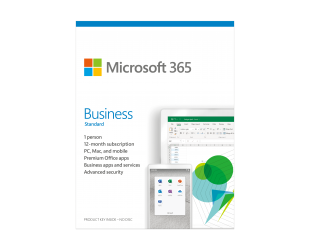 Programinė įranga Microsoft 365 Business Standard KLQ-00469 License term 1 year(s), Latvian, Medialess, P6