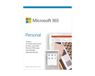 Programinė įranga Microsoft 365 Personal QQ2-00998 1 Person, License term 1 year(s), Lithuanian, Medialess, P6