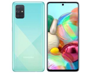 "Mobilusis telefonas Samsung Galaxy A71 A715 Blue 6.7"" 128GB Dual SIM"
