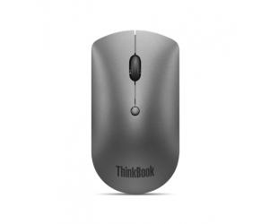 Pelė Lenovo ThinkBook Bluetooth Silent Mouse Iron Grey, Bluetooth 5.0