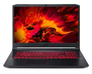 """Nešiojamas kompiuteris Acer Nitro 5 AN517-52-57U2 Black 17.3"""" i5-10300H 8GB 512GB SSD NVIDIA GeForce GTX 1650 4GB Windows 10"""