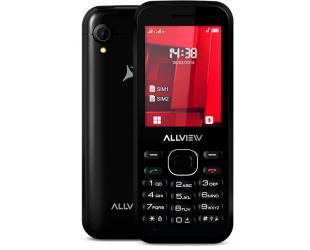 "Mobilusis telefonas Allview M8 Stark Black, 2.4 "", TFT, 240 x 320 pixels, Dual SIM, Bluetooth, 2.0, Built-in camera, Main camera 0.3 MP, 1000 mAh"
