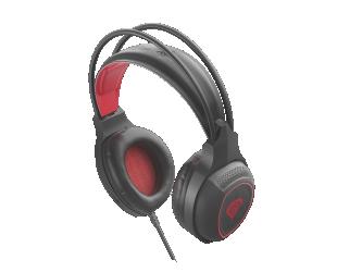 Ausinės Genesis RADON 300 Gaming Headset, Built-in microphone, Black/Red