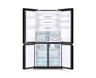 Šaldytuvas Hitachi R-WB640VRU0 (GMG) Glass Mauve Grey