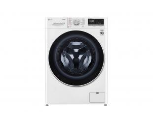 Skalbimo mašina LG Washing machine with dryer F4DN409S0 Energy efficiency class D, Front loading, Washing capacity 9 kg, 1400 RPM, Depth 56 cm, Width 60 cm, Display, LED touch screen, Drying system, Drying capacity 5 kg, Steam function, Direct drive