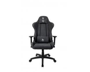Žaidimų kėdė Arozzi Torretta Soft Fabric, Dark Grey