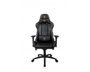 Žaidimų kėdė Arozzi Verona Signature PU, Black/Golden Logo