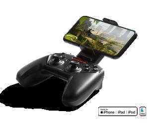 Žaidimų pultas SteelSeries Apple Gaming Controller, Nimbus+, Black