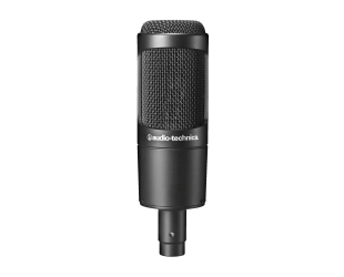 Mikrofonas Audio Technica Cardioid Condenser Microphone AT2035 0.403 kg, Black