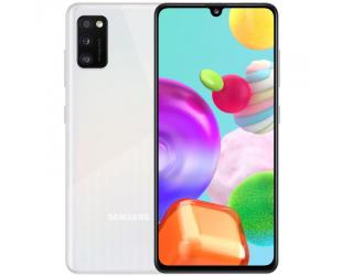 "Mobilusis telefonas Samsung Galaxy A41 Prism Crush White 6.1"" 64GB Dual SIM"