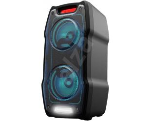 Kolonėlės Sharp PS-929 Party Speaker 180 W, With Built-in Battery, DJ Mixer, 13 h Playtime, TWS, USB, Karaoke Function, LED, Bluetooth