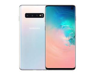 """Mobilusis telefonas Samsung Galaxy S10 Dual SIM (Prism White) 6.1"""" 128GB Dual SIM"""