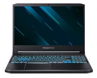 "Nešiojamas kompiuteris Acer Predator Helios 300 PH315-53-56MK Black/Blue, 15.6 "", IPS, FHD, 1920 x 1080 pixels, Matt, Intel Core i5, i5-10300H, 8 GB, DDR4, SSD 512 GB, NVIDIA GeForce GTX 1660Ti, GDDR6, 6 GB, No ODD, Windows 10 Home, Keyboard language Eng"