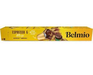 Kavos kapsulės Belmoca Belmio Sleeve Espresso Allegro Coffee tinka Nespresso kavos aparatams, 10 capsules, Coffee strength 6/12, 100 % Arabica, 52 g