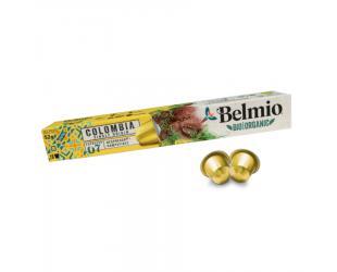Kavos kapsulės Belmoca Belmio Sleeve BIO/Single Origine Colombia Coffee tinka Nespresso kavos aparatams, 10 aluminum capsules, Coffee strength 7/12