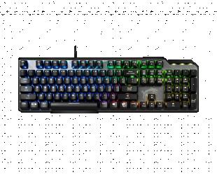 Žaidimų klaviatūra MSI Vigor GK50 Elite BW