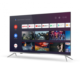"Televizorius Allview Smart TV 43ePlay6100-U LED TV, 43"" (109 cm), Android 9.0, 4K UHD, 3840x2160 pixels, Wi-Fi, DVB-T/T2/C, Silver/Black"