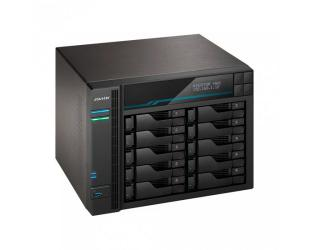 Diskų masyvas Asus AsusTor 10 Bay NAS AS6510T Up to 10 HDD/SSD, Intel ATOM C3538 Quad-Core, Processor frequency 2.1 GHz, 8 GB, SO-DIMM DDR4, Black