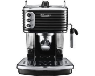 Kavos aparatas Delonghi Coffee Maker ECZ 351.BK Sculpture Pump pressure 15 bar, Built-in milk frother, Semi-automatic, 1100 W, Black