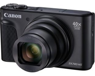 "Fotoaparatas Canon Travel Kit SX740 20.3 MP, Optical zoom 40x x, Digital zoom 4x x, ISO 3200, Display diagonal 3.0 "", Video recording, Black"