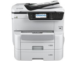Rašalinis daugiafunkcinis spausdintuvas Epson WorkForce Pro WF-C8690DTWF Colour, Inkjet, A3+, Wi-Fi, Grey