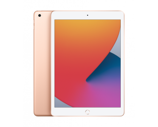"Planšetinis kompiuteris Apple 8th Gen (2020) iPad Wi-Fi 10.2"", Gold, Retina touch screen with IPS, 2160 x 1620, Apple A12 Bionic, 3 GB, 128 GB, Wi-Fi, Front camera, 1.2 MP, Rear camera, 8 MP, Bluetooth, 4.2, iPadOS"