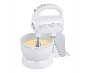 Mikseris Camry Mixer CR 4213 Mixer with bowl, 300 W, Number of speeds 5, Turbo mode, White