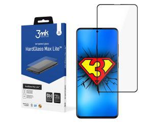 Ekrano apsauga 3MK HardGlass Max Samsung, Samsung Galaxy A51, 3D Glass, Black, Tempered Glass Protector